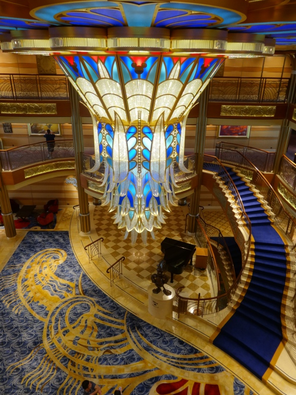 The Disney Dream's Lobby